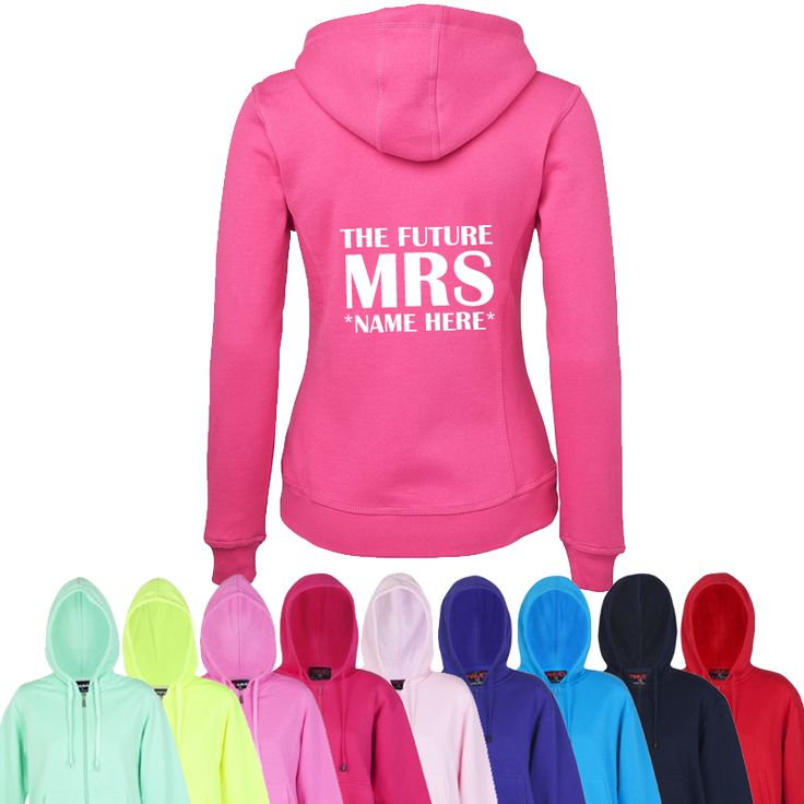 The Future Mrs *Name* Hoodie
