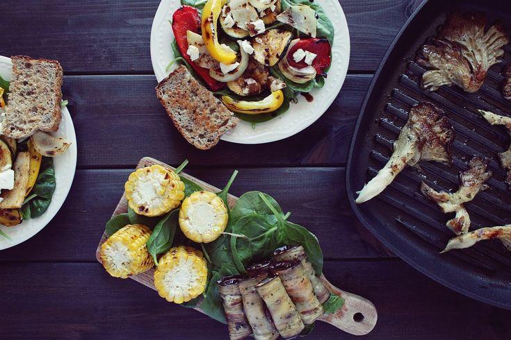 Czy grillowanie jest zdrowe? Jak grillować zdrowo + kilka przepisów na grill wegetariański.