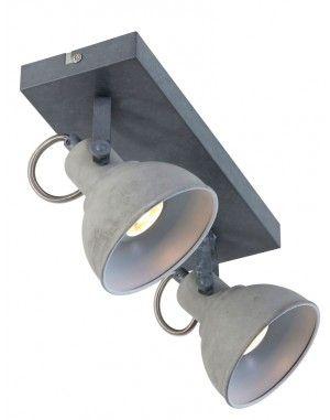 Tweelichts-plafondlamp