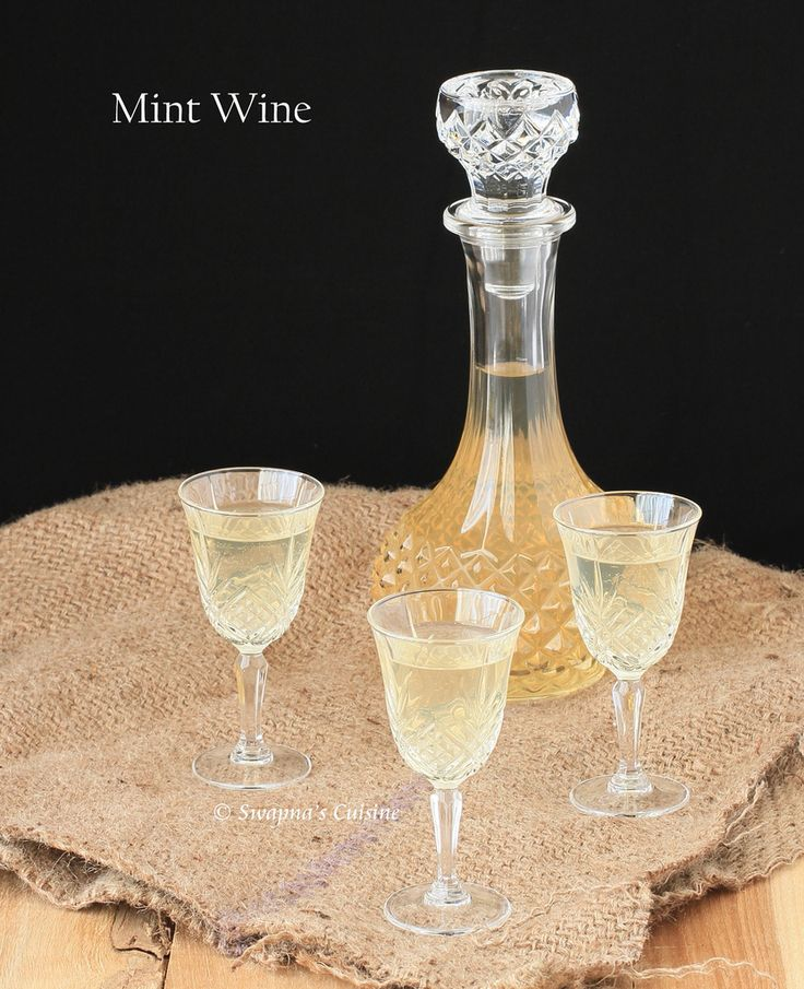 Homemade Mint Wine Recipe