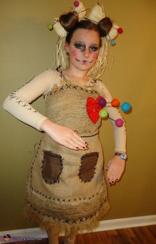 Pretty Little Voo Doo Doll – Halloween Costume Contest via @costumeworks