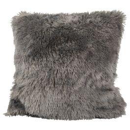 housse coussin fluffy poly. 45x45cm div. - Plaids & Coussins - Décoration  - Action France