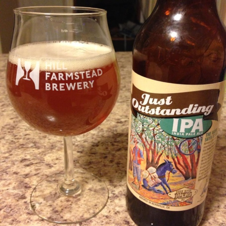 Just Outstanding IPA by Kern River Brewing Company