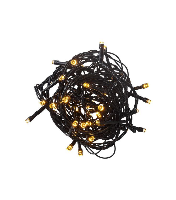 éclairage de Noël 50 ampoules LED usage faible consommation  intérieur/extérieur