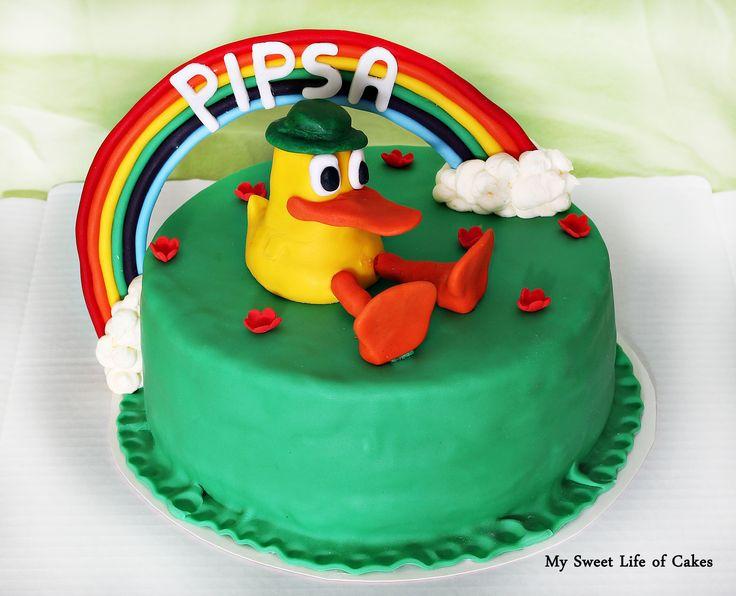 Pocoyo / duck cake :)