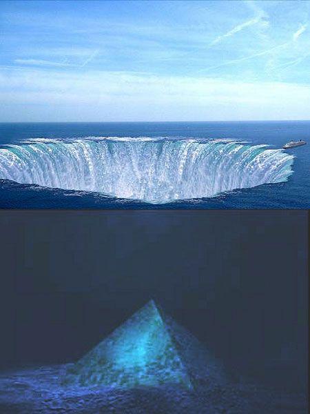 Crystal+Pyramid+Under+Bermuda+MSN | Diving Teams Find Crystal Pyramid Submerged in the Bermuda Triangle ...