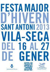 Proposta cartell festa major sant antoni 2013