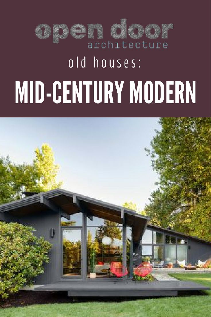 15 best Old Houses Mid century Modern images on Pinterest Modern