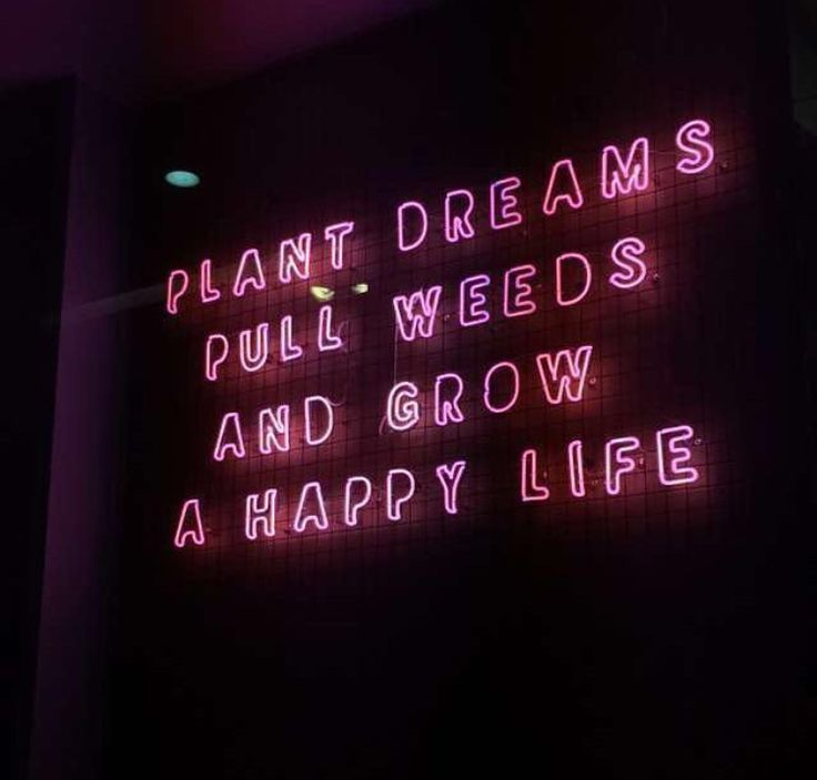 GIRLS MOOD: Plant Dreams, Pull Weeds and Grow a Happy Life // Good Vibes Only