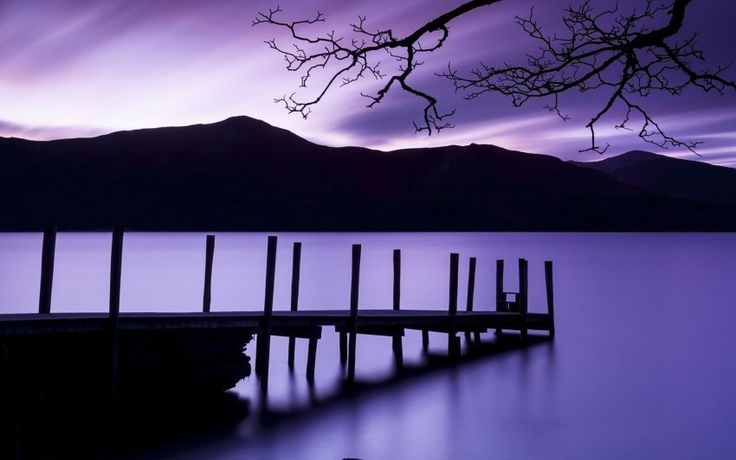 Amazing Purple Dusk Download free addictive high quality photos,beautiful images and amazing digital art graphics about Nature / Landscapes.