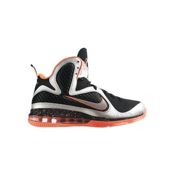 Nike LeBron 9 'Mango' Restock at NikeStore | SneakerFiles ❤ liked on Polyvore