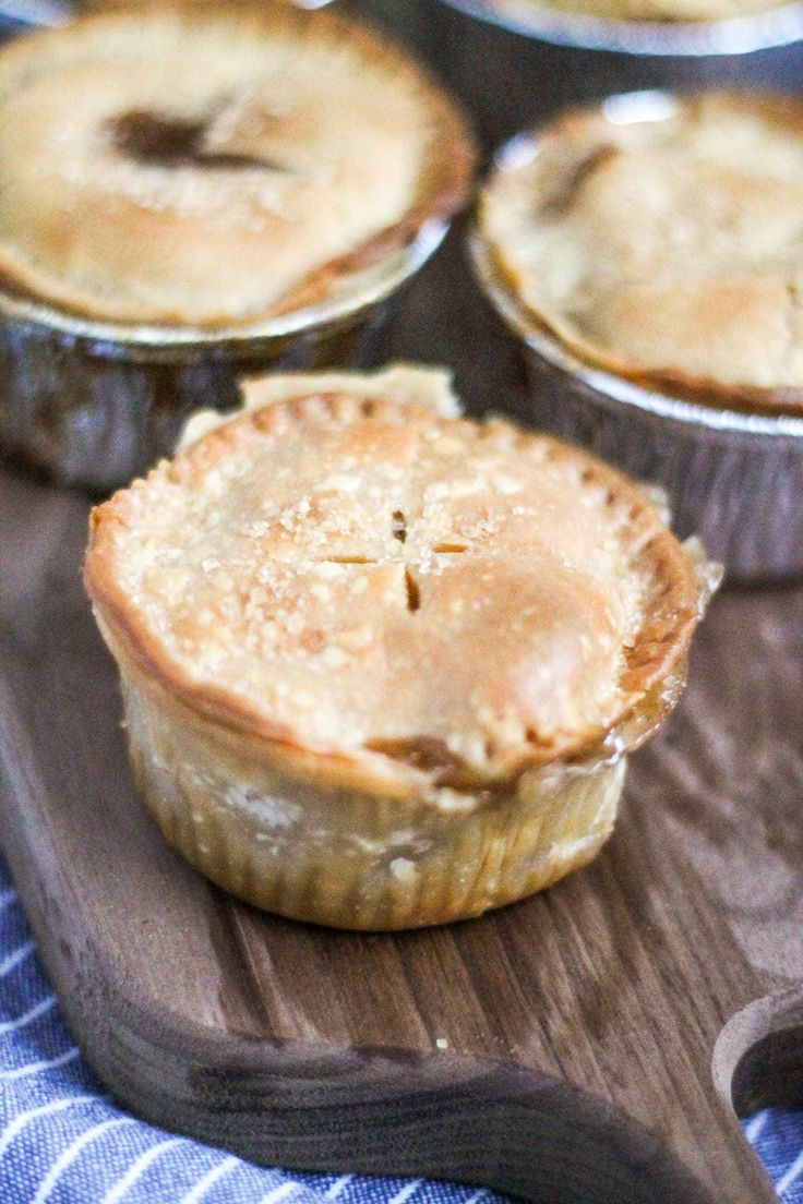 These Mini Peach Pies are such a treat. Fresh peaches are sliced and baked in a crust with brown sugar, vanilla, and a touch of bourbon. This is a simple take on a traditional peach pie. It is sweet without being too sweet, and all of the ingredients serve to compliment the fresh juicy peaches. (read more)