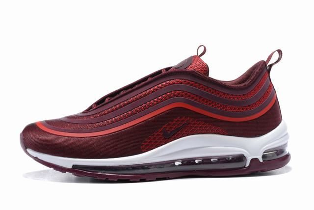 homme nike air max 97 rouge