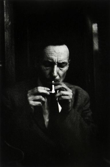 HAROLD CHAPMAN William S. Burroughs, Beat Hotel, c.1956