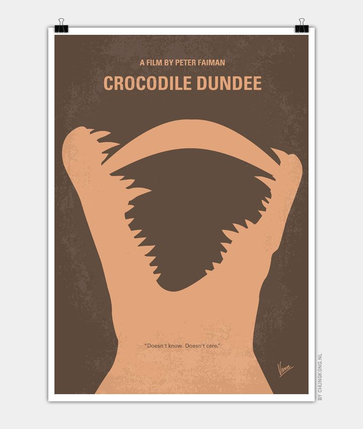 No210-My-Crocodile-Dundee-minimal-movie-poster-720px.jpg (720×850)