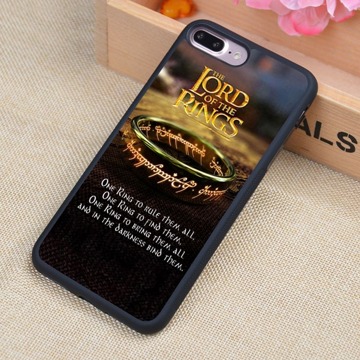 lord of the rings Printed Phone Case Skin Shell For iPhone 6 6S Plus 7 7 Plus 5 5S 5C SE 4 4S Rubber Soft Cell Housing Cover