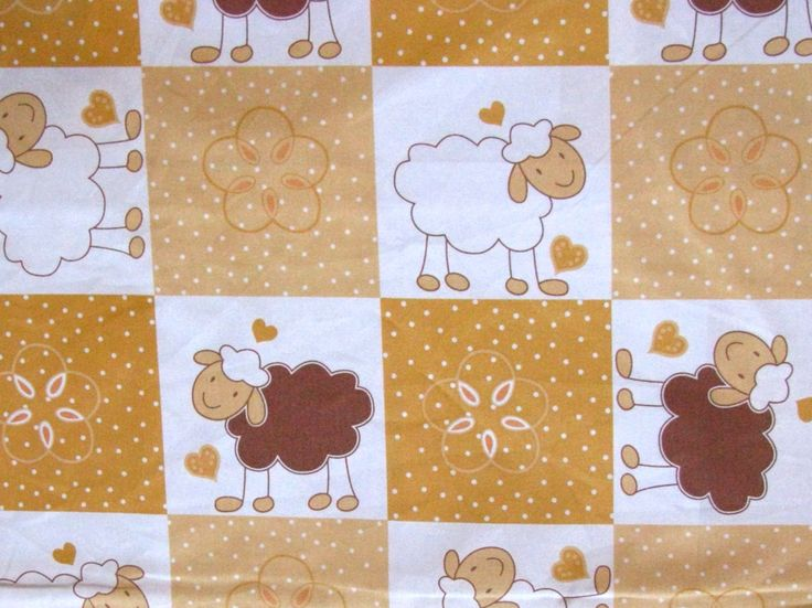 Dětské motivy - ovečka patchwork 13122