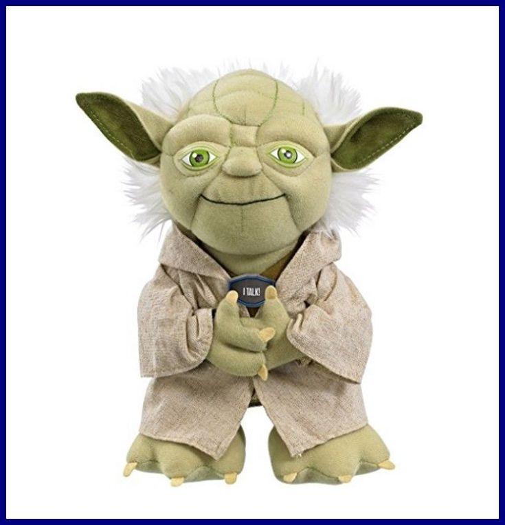 yoda star wars talking plush toy stuffed animal original jedi doll kids gift