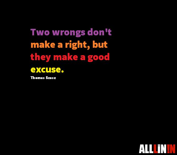 Funny quote about mistakes by Thomas Szasz.