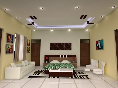 15 best latest pop designs for hall with pictures in - Simple ceiling design for living room ...