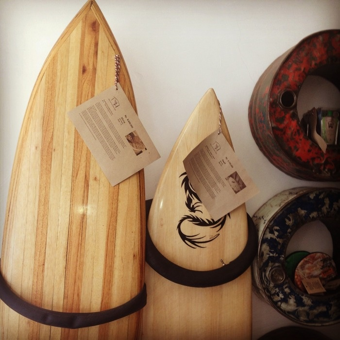 Tucked away at the top of Jl. Nakula, Seminyak, is a diminutive shop containing some beautiful eco surfboards and produc...