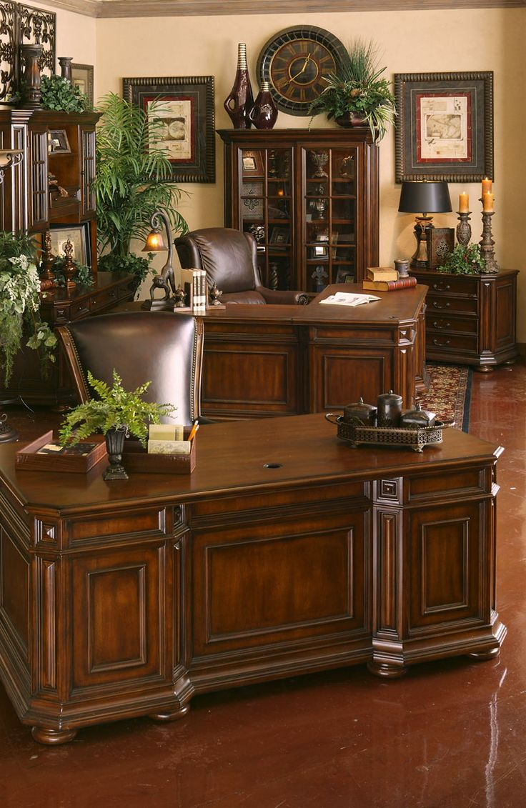 pinterest office desk. cantata executive home office by riverside pinterest desk f