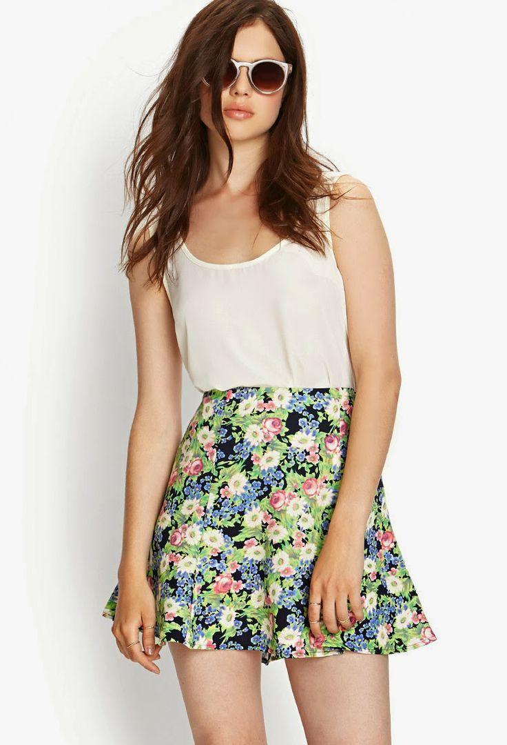 Atractivas faldas cortas de temporada | Moda 2014