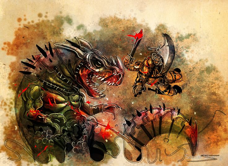 Manstodon versus the Swamp Tyrant