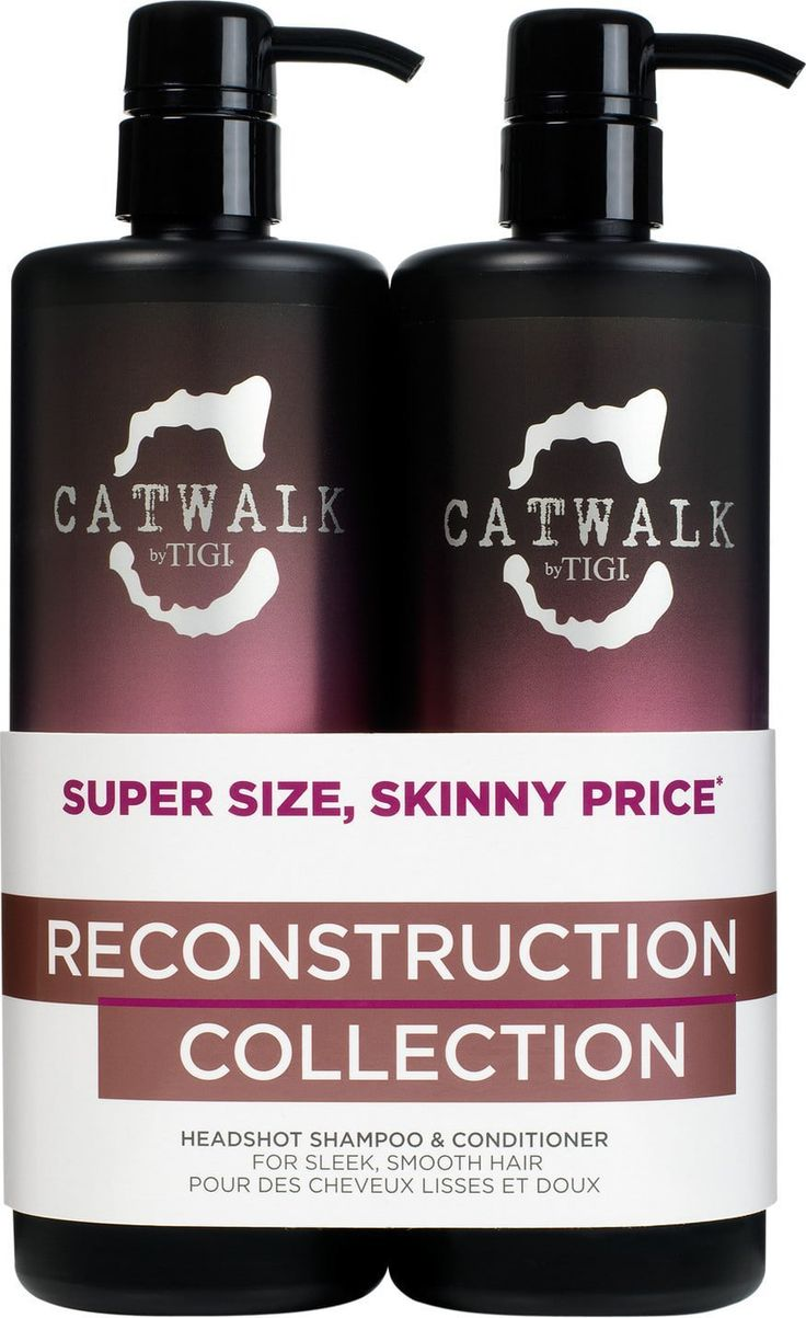 TIGI Catwalk Headshot Shampoo and Conditioner Tween Duo 2 x 750ml by TIGI >>> This is an Amazon Affiliate link. Click image for more details.