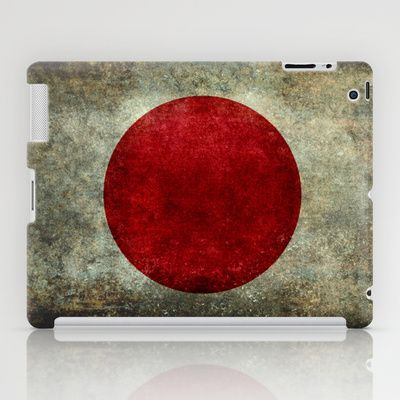 The national flag of Japan iPad Case by LonestarDesigns2020 - Flags Designs + - $60.00