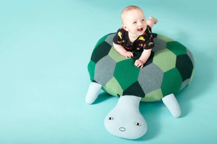 Donna Wilson A/W 2013 Collection - Giant Tortoise Floor Cushion