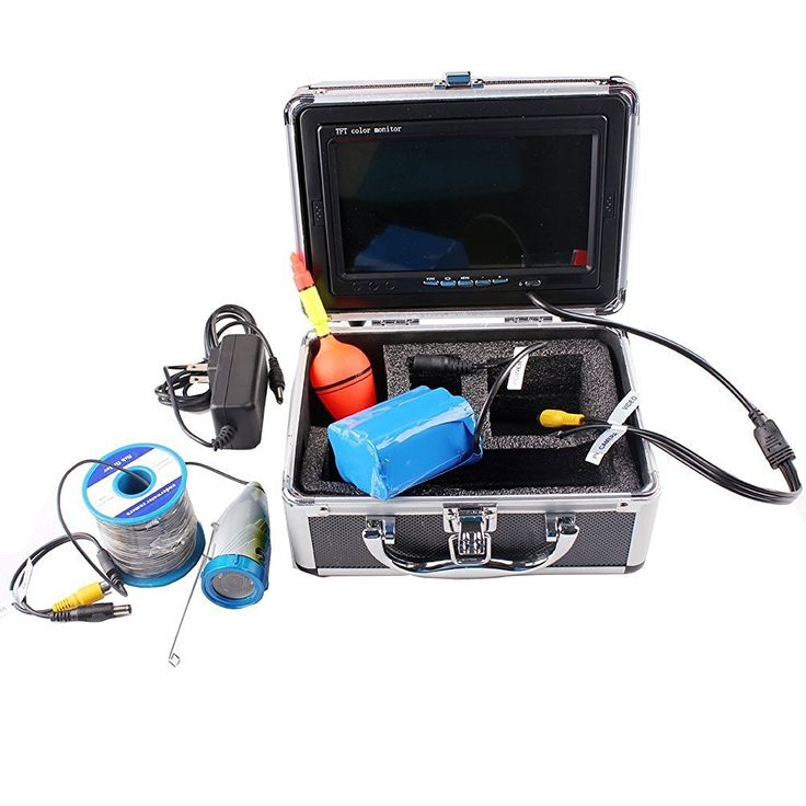 Shanyi Fishing Fish Finder 7' Color LCD HD Underwater Video Camera System 600TV Lines * Read more reviews of the product by visiting the link on the image.
