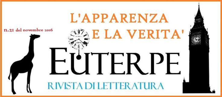 in uscita la #rivista di letteratura  #Euterpe n. 21 e L'area di Broca semestrale di letteratura e conoscenza dedicato a Gabriella Maleti. comunicazione agli autori Stile Euterpe