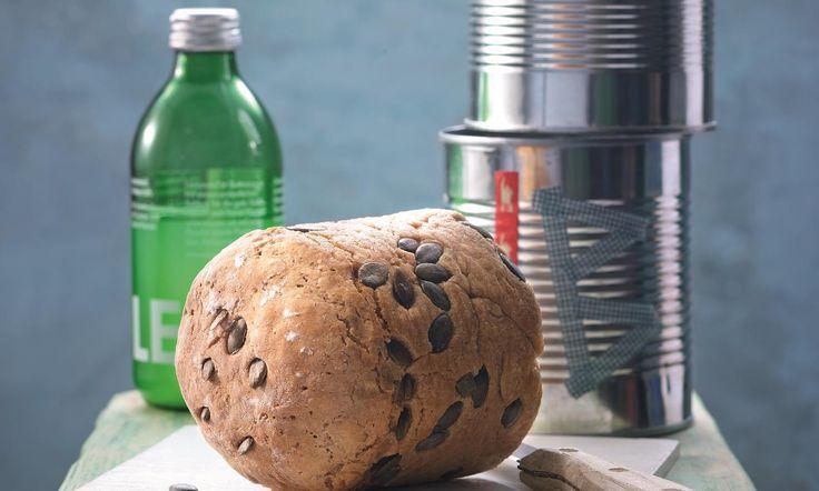 Dosenbrot-Duo Rezept: Ein Brot mit Kürbiskernen, ein Brot mit Haselnüssen - Eins von 5.000 leckeren, gelingsicheren Rezepten von Dr. Oetker!
