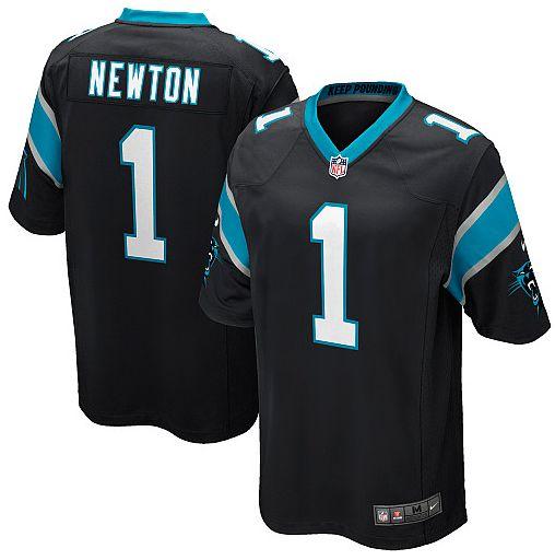 Carolina Panthers Jersey - Cam Newton Black Limited Jersey - YOUTH