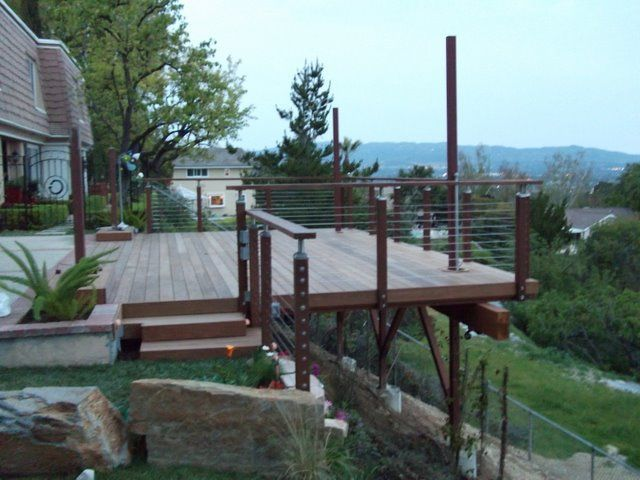 Best 25 Hillside Deck Ideas On Pinterest Deck Ideas For