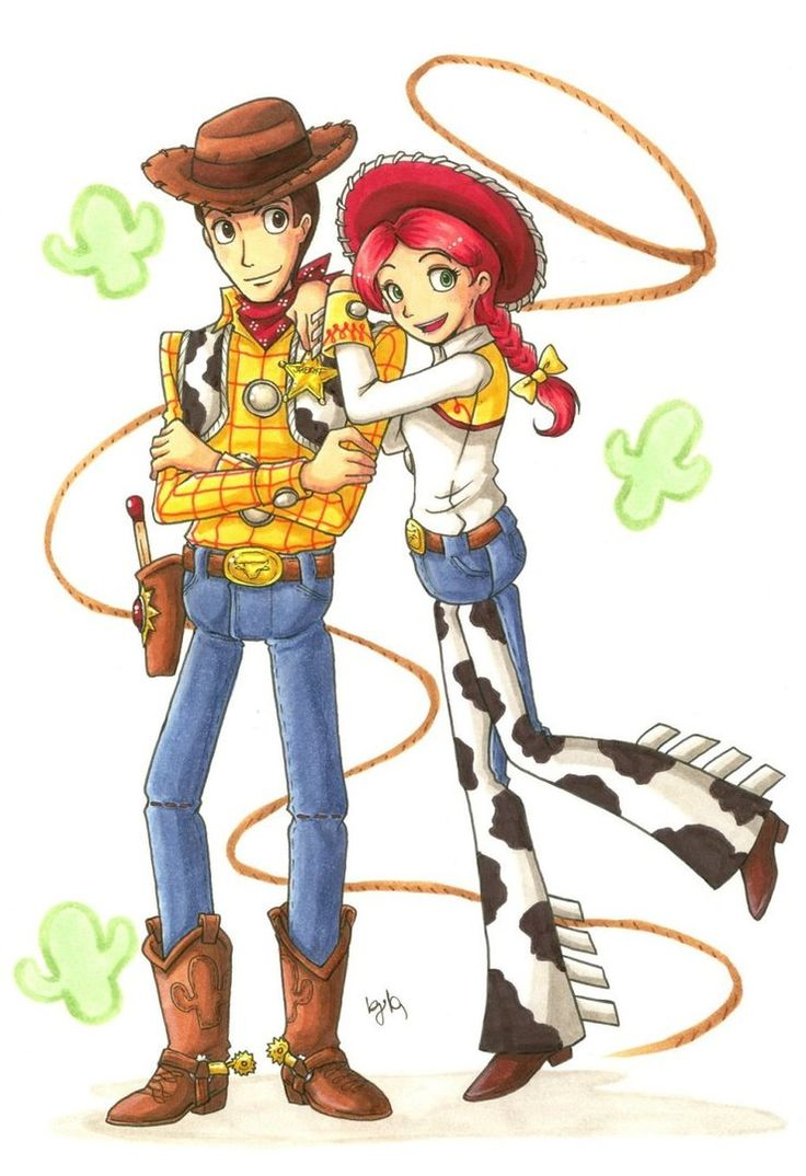 toy story woody and jessie relationship