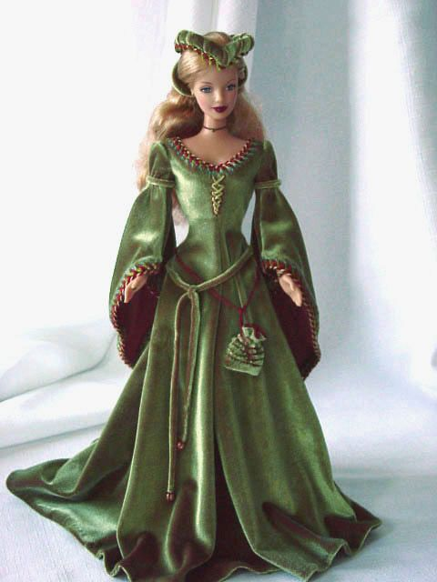 History barbie. I would have loved that when I was little. Hell, I love it now!