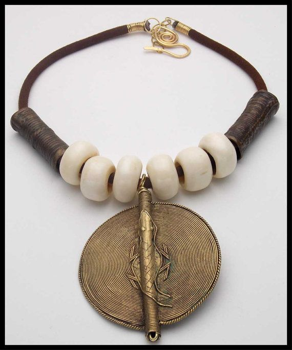 AFRICAN DESERT Very Old Handcast African by sandrawebsterjewelry, $75.00