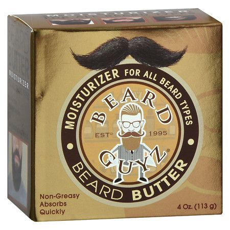 Beard Guyz Beard Butter All Beard Types - 4 Oz.