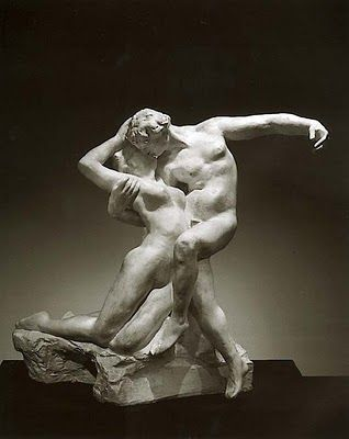 Eternal Spring, also known as Eternal Springtime, probably modeled 1881, this marble executed 1906–7. Auguste Rodin (French, 1840–1917)