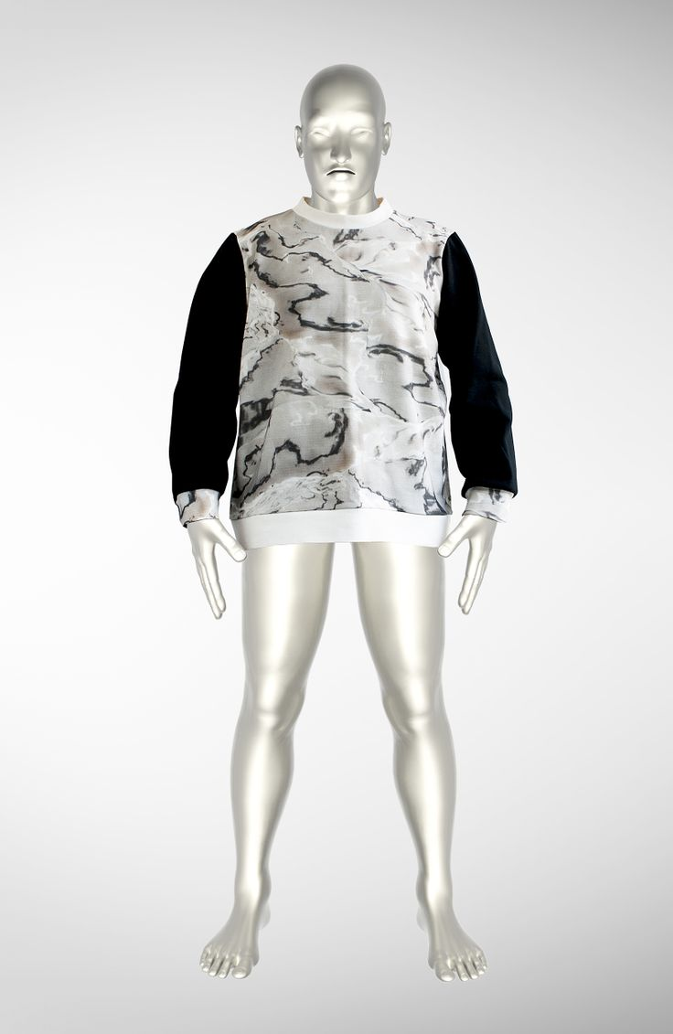 Marble Fantasy Sweater by Warp Hood