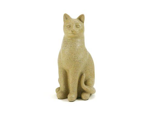 Near  Dear Pet Memorials Elite Cat Resin Cremation Urn 25 Cubic Inch Fawn ** Click on the image for additional details.(This is an Amazon affiliate link and I receive a commission for the sales)