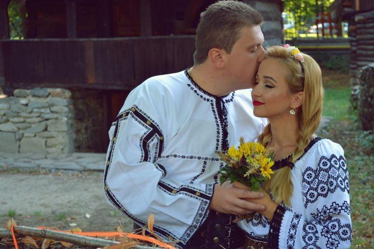 Georgiana și Ovidiu. Nuntă tradițională în Orăștie