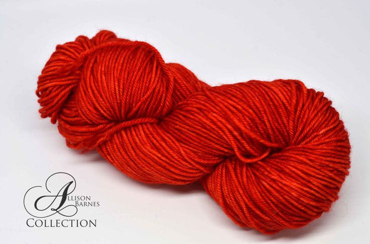 Hand Dyed Superwash Merino - Worsted Weight yarn - Paprika by allisonbCOLLECTION on Etsy https://www.etsy.com/ca/listing/486380311/hand-dyed-superwash-merino-worsted