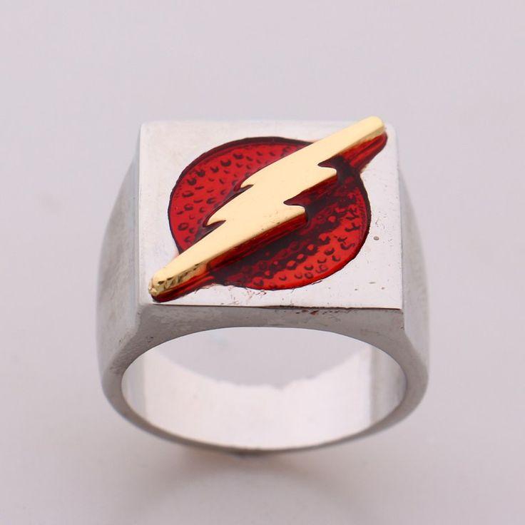The Flash Superhero Ring //Price: $12.69 & FREE Shipping //     #hashtag2
