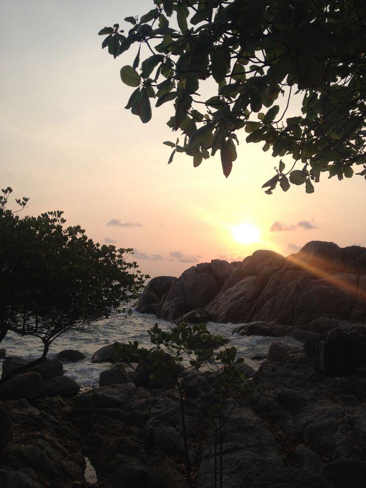 Sunrise at Parai Beach - Bangka Island