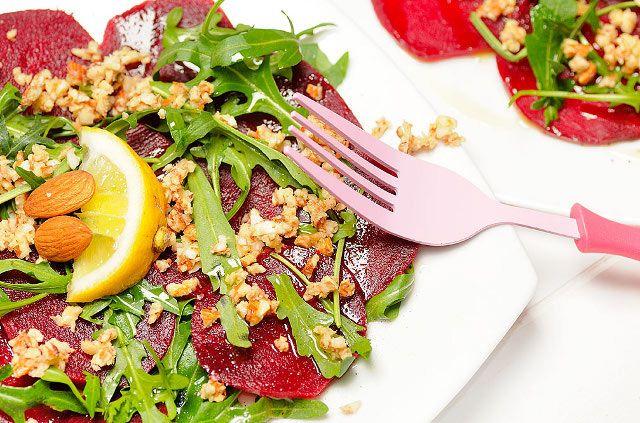 Insalata di barbabietole rosse – Vegan blog – Ricette Vegan – Vegane – Cruelty Free