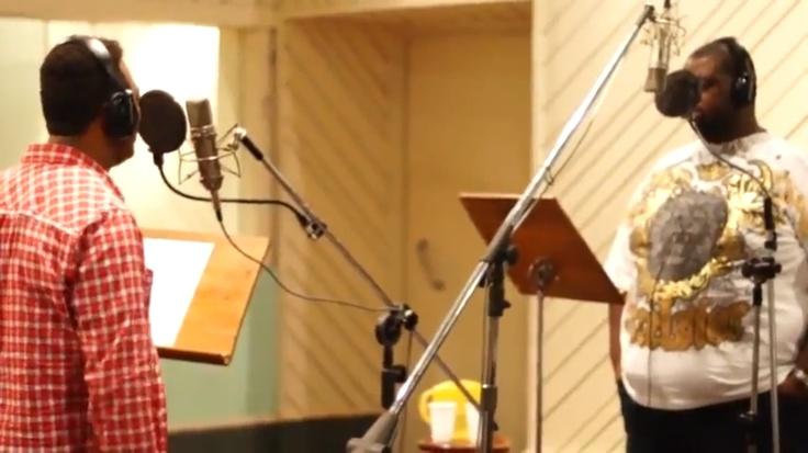 """Marquinhos Gomes grava clipe da canção """"Ele não desiste de você com a participação de Péricles, ex-c"""