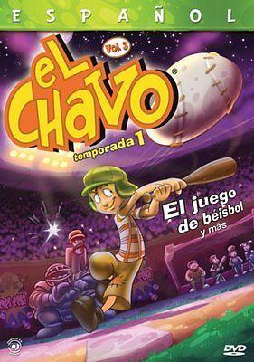 NEW El Chavo Animado, Vol. 3: El Juego de Beisbol y Mas (DVD)